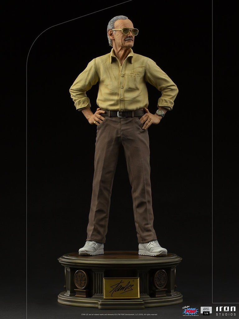 PREORDER - IRON STUDIOS - Stan Lee Legacy Replica 1/4