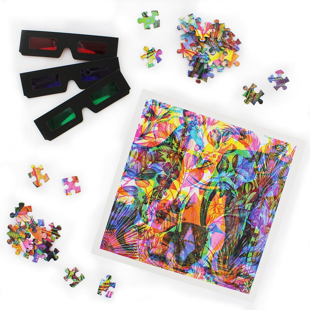 GINGER FOX Carnovsky Jungle Puzzle