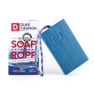DUKE CANNON - Big Ass Soap on a Rope - Naval Supremacy