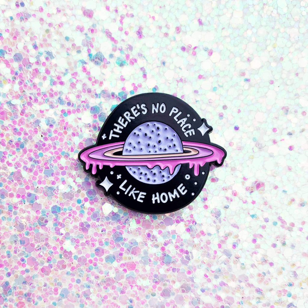 BAND OF WEIRDOS - No Place Like Home Enamel Pin