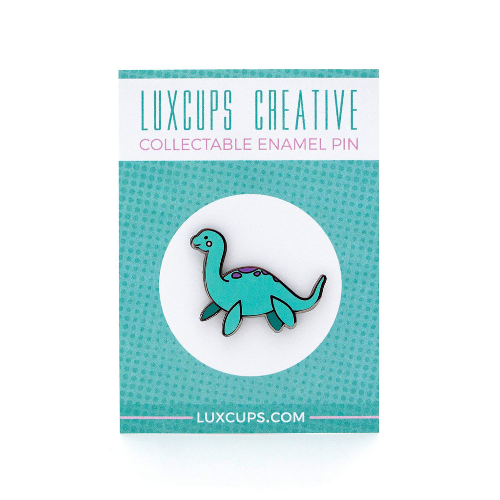 LUXCUPS CREATIVE - Lady Lochness Pin