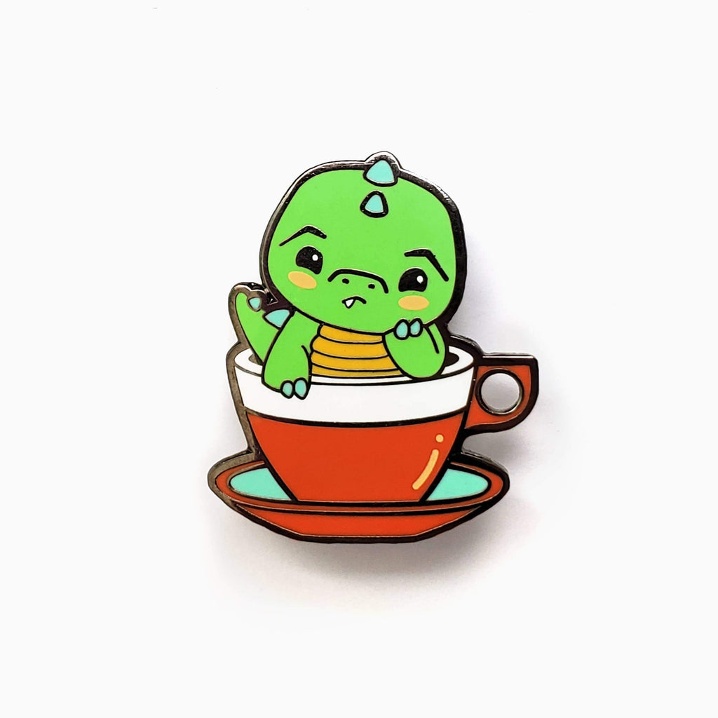 LUXCUPS CREATIVE - Green Tea Rex Pin