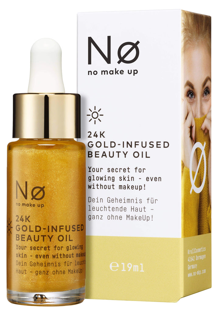 Nø Cosmetics - ø glow today 24K Gold Infused Beauty Oil