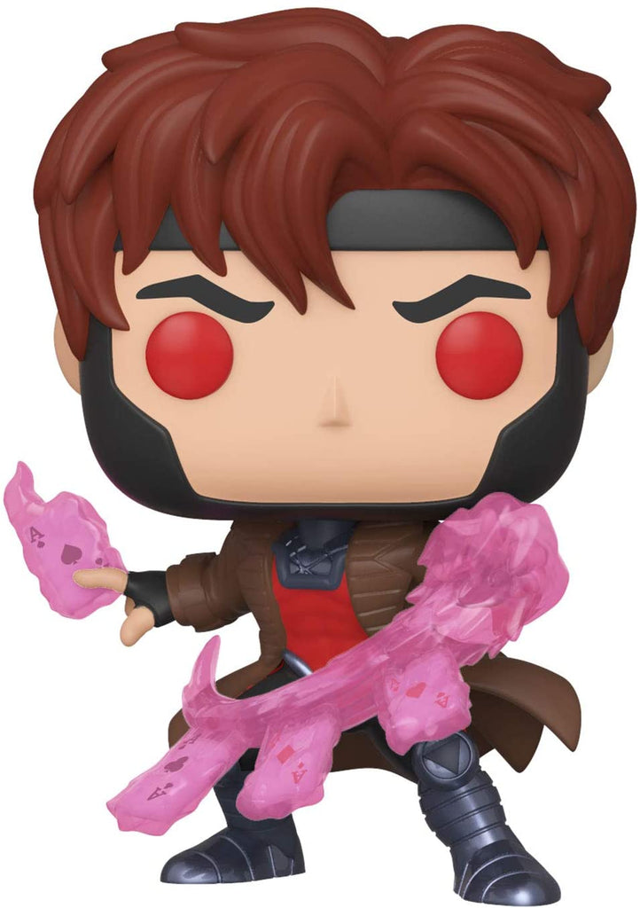 FUNKO POP!  X-Men Classic - Gambit w/ Cards