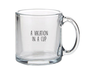 Glass Mug - VacationGlass Mug - Vacation