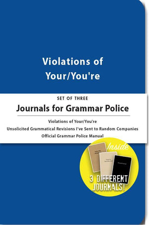WHISKEY RIVER SOAP CO - Journals for Grammar Police