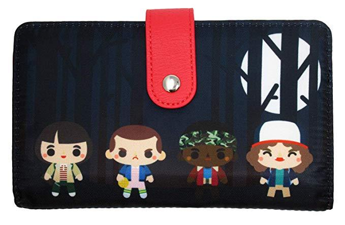 LOUNGEFLY Stranger Things Chibi Upside Down Backpack