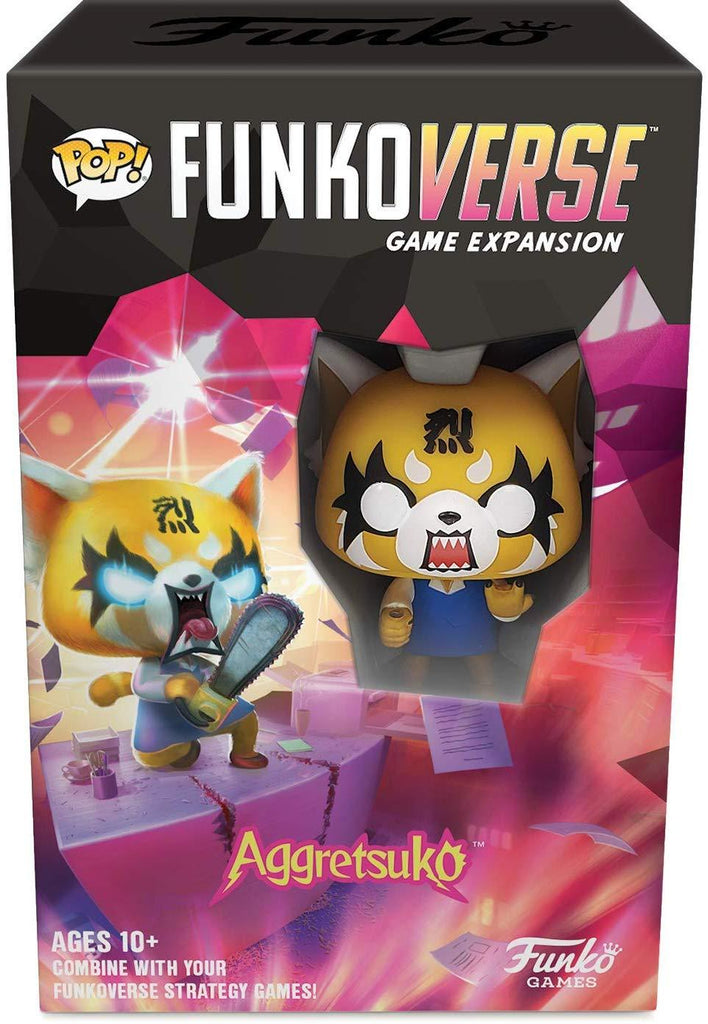 FUNKO Pop! Funkoverse Strategy Game - Aggretsuko 100 Expansion