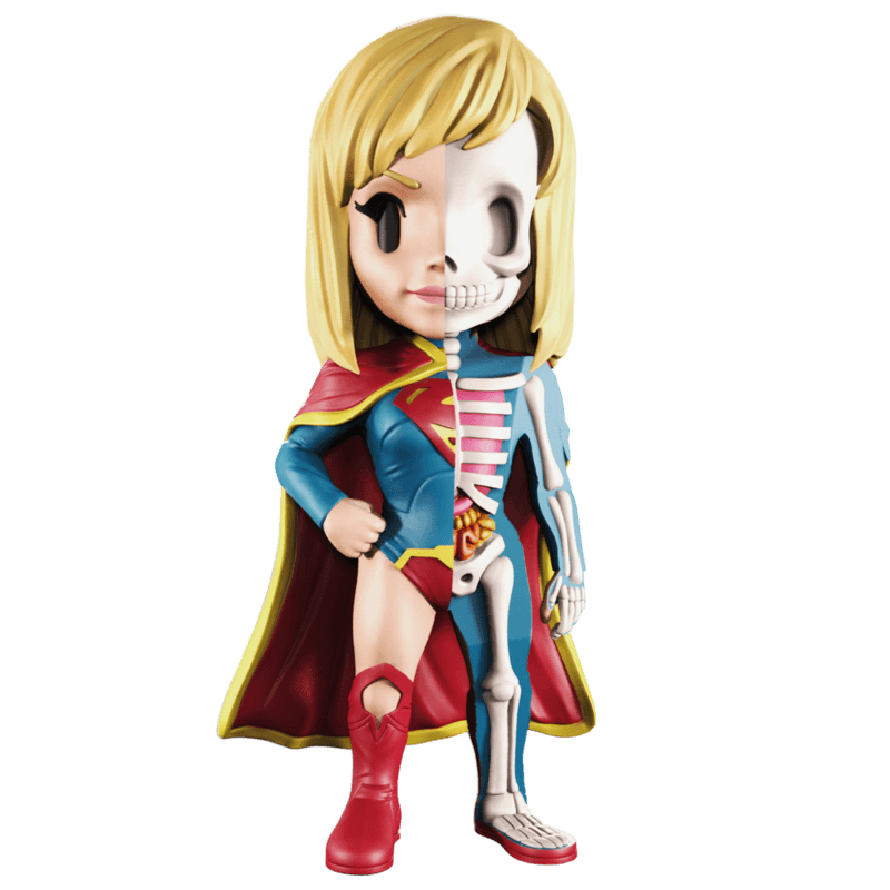 MIGHTY JAXX Supergirl XXray 4 Inch Vinyl Figure