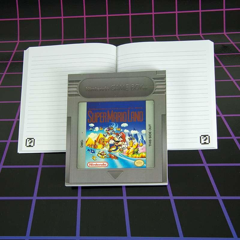 GAMEBOY Cartridge Notebook