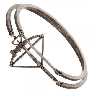 Walking Dead Metal Bow and Arrow Bracelet