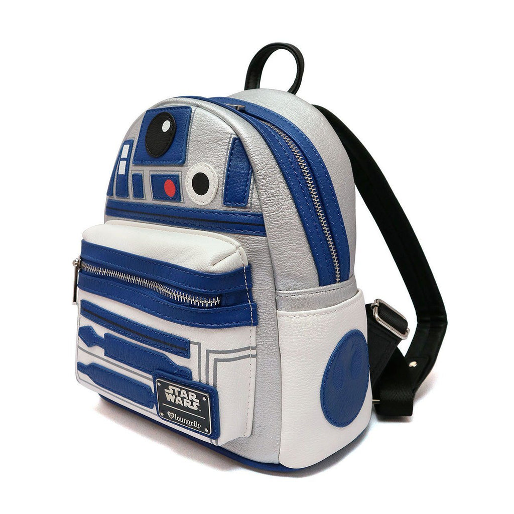 LOUNGEFLY Star Wars R2-D2 Mini Backpack