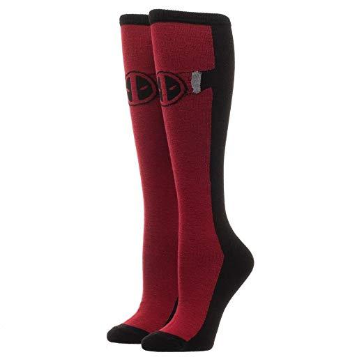 DEADPOOL Suit Up Knee High Socks