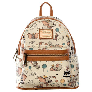 LOUNGEFLY X DUMBO VINTAGE MINI BACKPACK