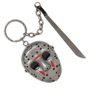 FIRDAY THE 13TH Jason Voorhees 3-D Keychain