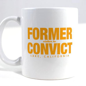 Fake-Cation Mug Set - Convict/Shady