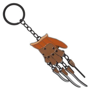 NIGHTMARE ON ELM STREET Freddy Krueger Glover Keychain