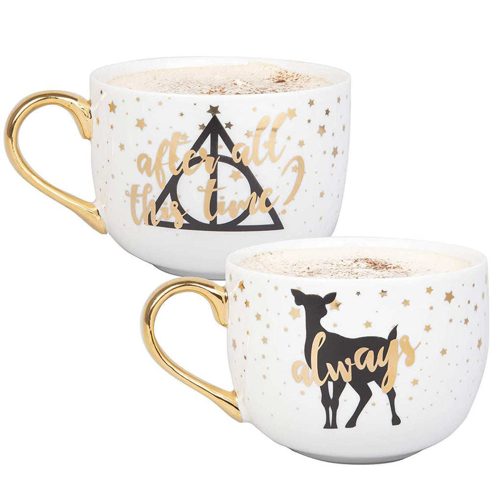 HARRY POTTER Latte Coffee Mug Set