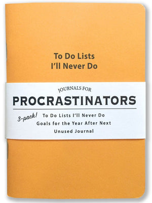 Journals for Procrastinators