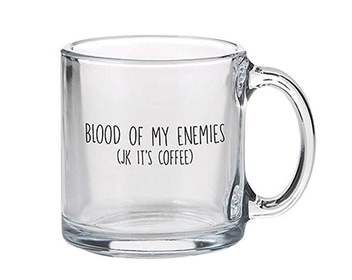 Glass Mug - Blood of my Enemies