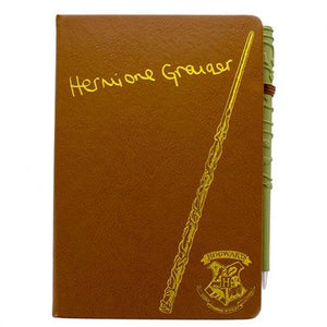 Hermione Granger Notebook & Wand Set