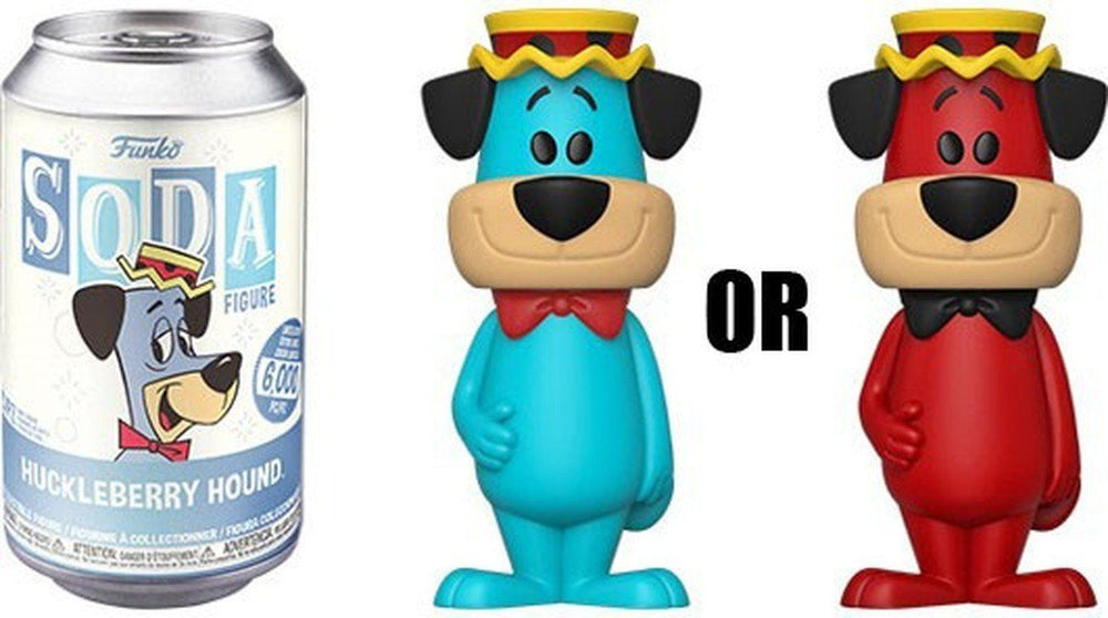 FUNKO POP! SODA CAN VINYL -  Huckleberry Hound