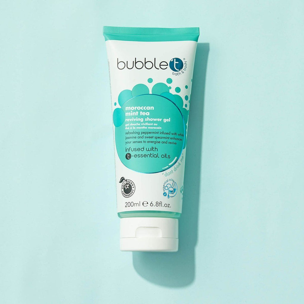 BUBBLE T Moroccan Mint Tea Reviving Shower Gel