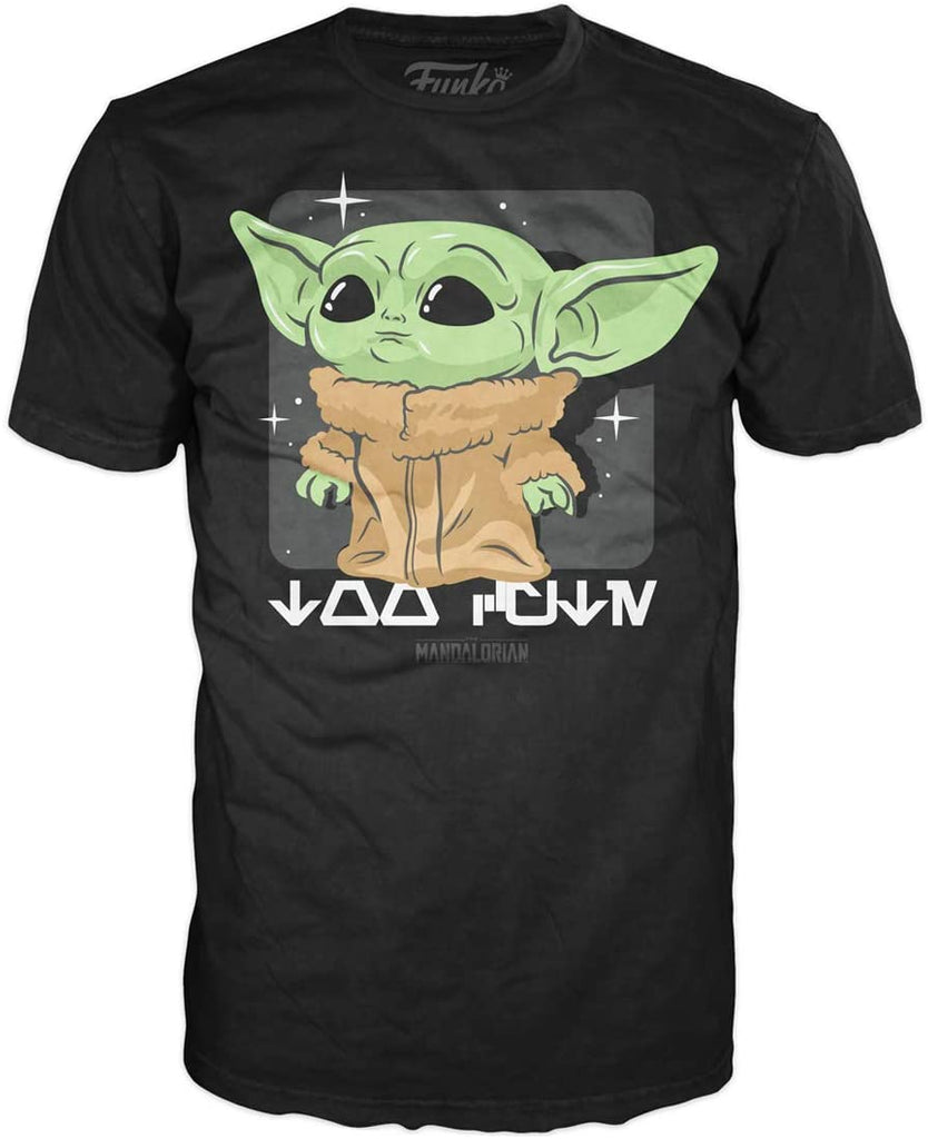 FUNKO POP! Tees : Mandalorian - The Child, Too Cute