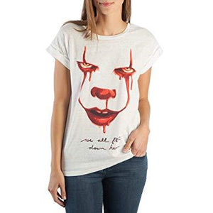 It We All Float Down Here Rolled Sleeve Tees