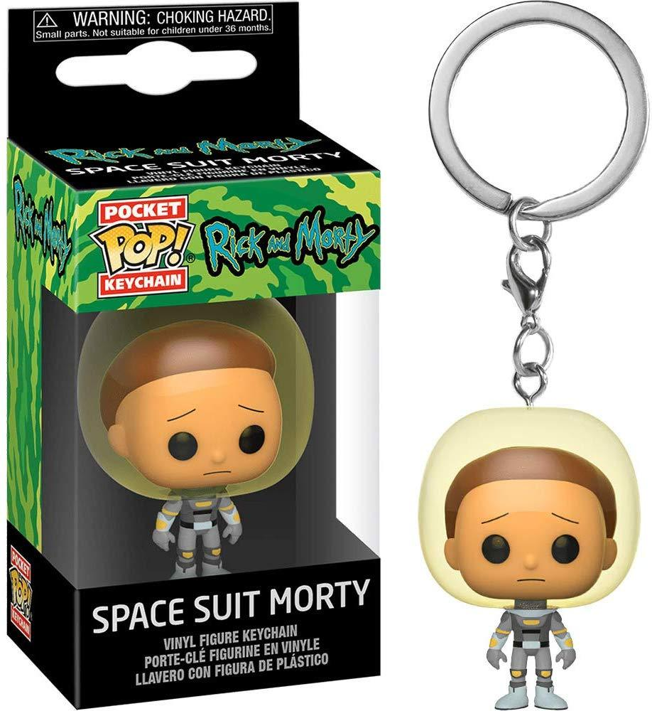 FUNKO POP! Keychain: Rick & Morty - Space Suit Morty