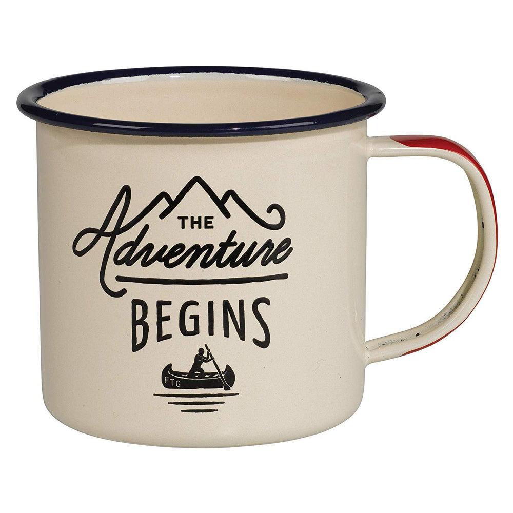 GENTLEMEN'S HARDWARE Enamel Mug - Cream