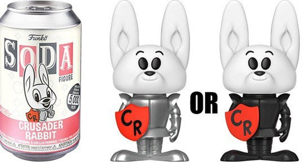 FUNKO POP! SODA CAN VINYL - Crusader Rabbit