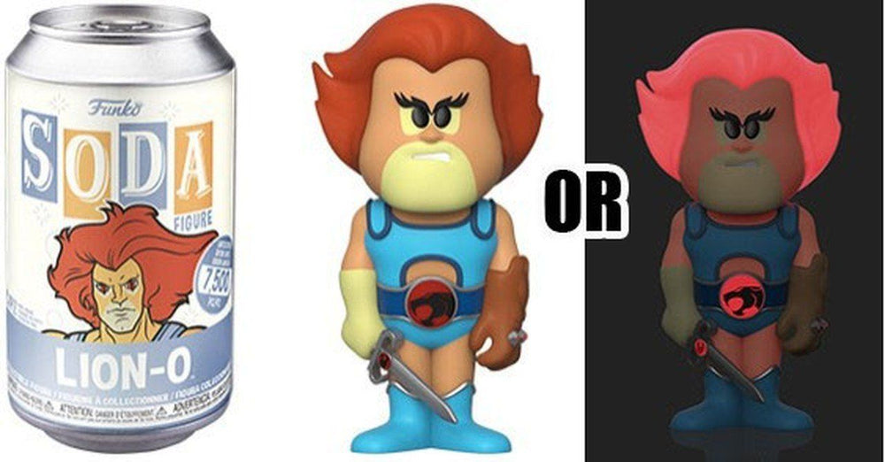 FUNKO POP! SODA CAN VINYL - Thundercats - Lion-O
