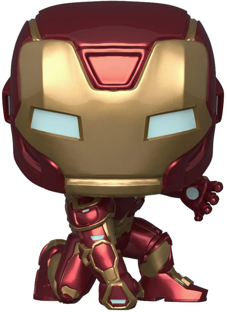 FUNKO POP! Avengers Game- Iron Man (Stark Tech Suit)