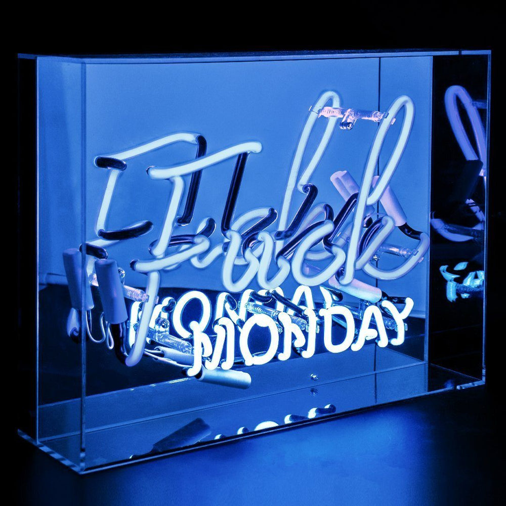 LOCOMOCEAN Neon Light - Fuck Monday