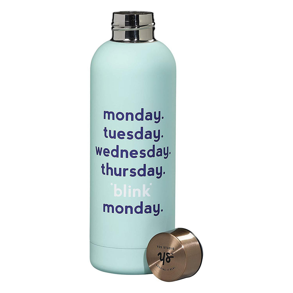 YES STUDIO - Water Bottle - Monday, Blink