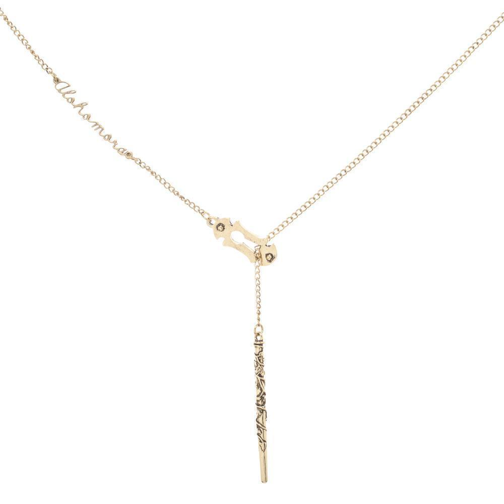 HARRY POTTER Alohomora Lariat Necklace