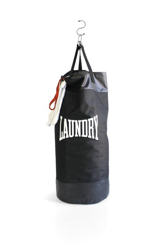 SUCK UK Black Punch Bag Laundry Bag