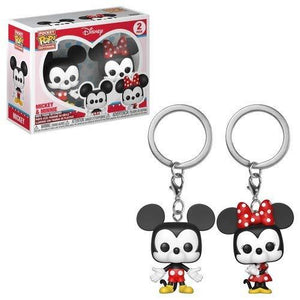 Pop! Keychain: Mickey & Minnie