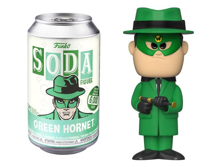 FUNKO POP! SODA CAN VINYL -  Green Hornet