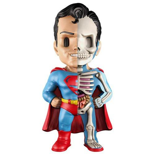 MIGHTY JAXX Superman Golden Age XXray 4 Inch Vinyl Figure