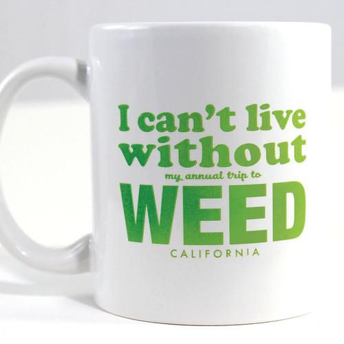 WHISKEY RIVER SOAP CO Fake-Cation Mug Set - Weed/Stalker