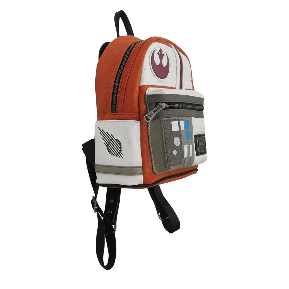 LOUNGEFLY Star Wars Rebel Cosplay Mini Faux Leather Backpack