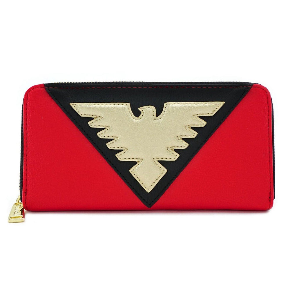 LOUNGEFLY Marvel: Dark Phoenix Suit Wallet