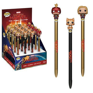 Captain Marvel Pop! Pen Toppers