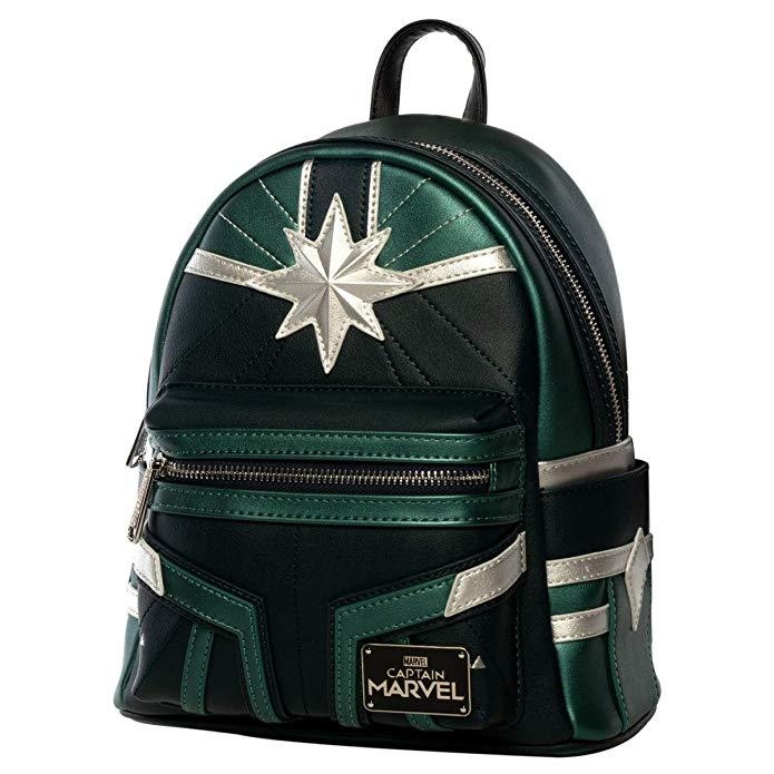LOUNGEFLY Captain Marvel Training Mini Backpack