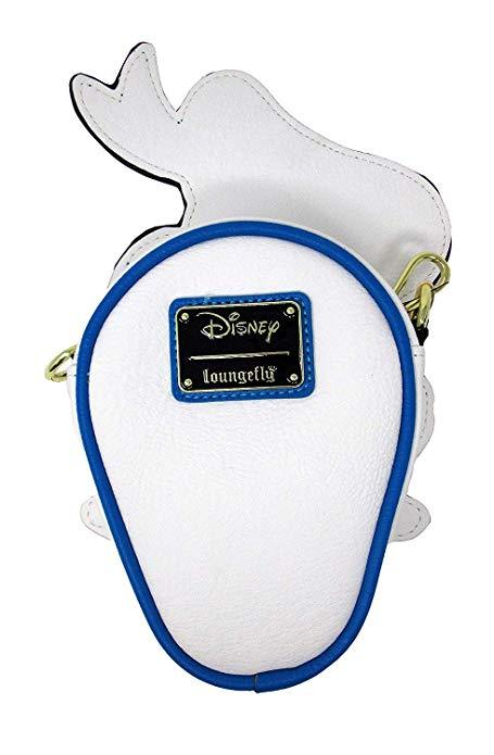 LOUNGEFLY Disney Donald Duck Die-cut Crossbody Bag