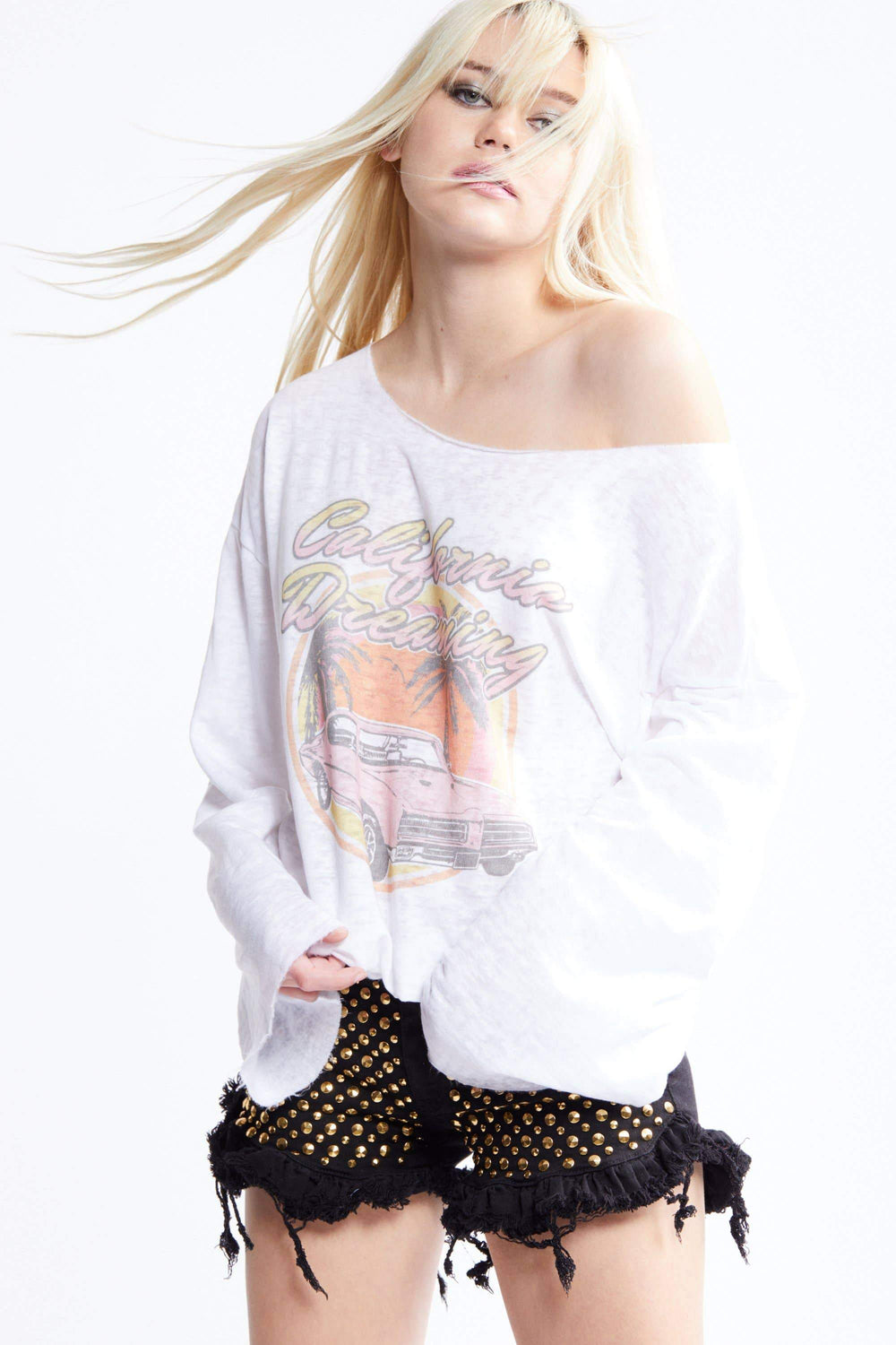 RECYCLED KARMA - California Dreaming Bell Sleeve Tee