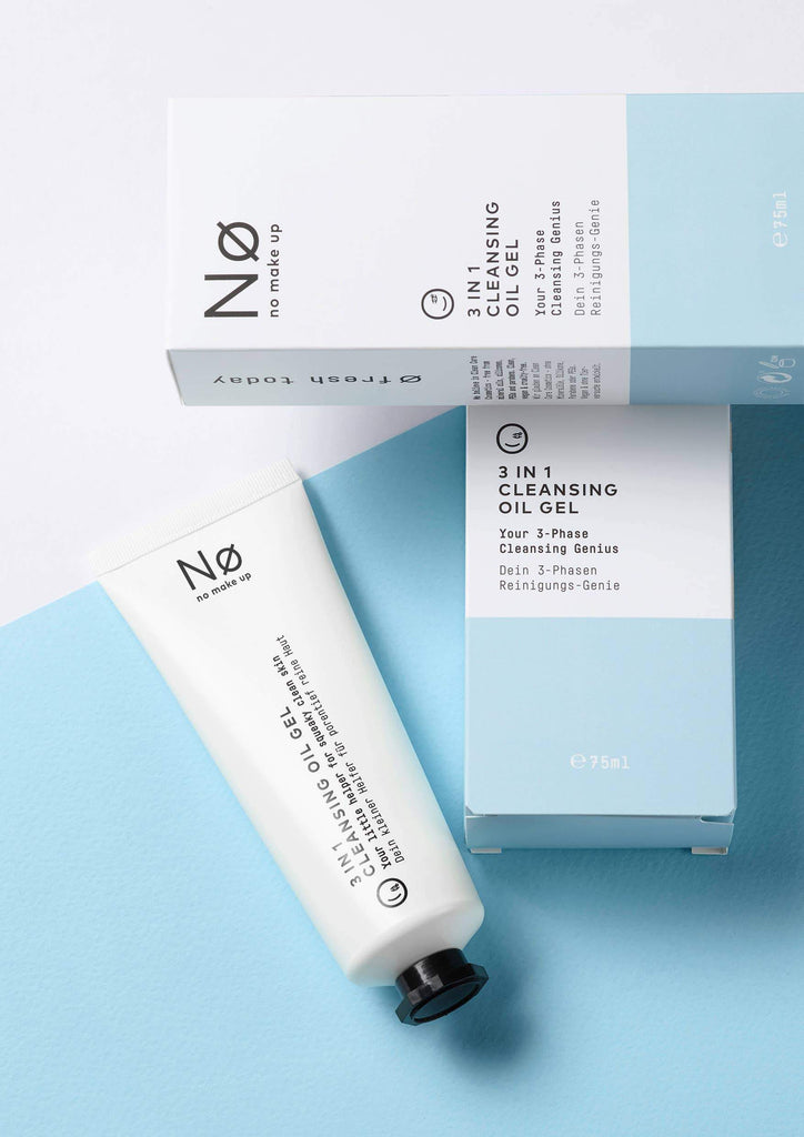Nø Cosmetics - ø fresh today 3 in 1 Cleansing Oil Gel