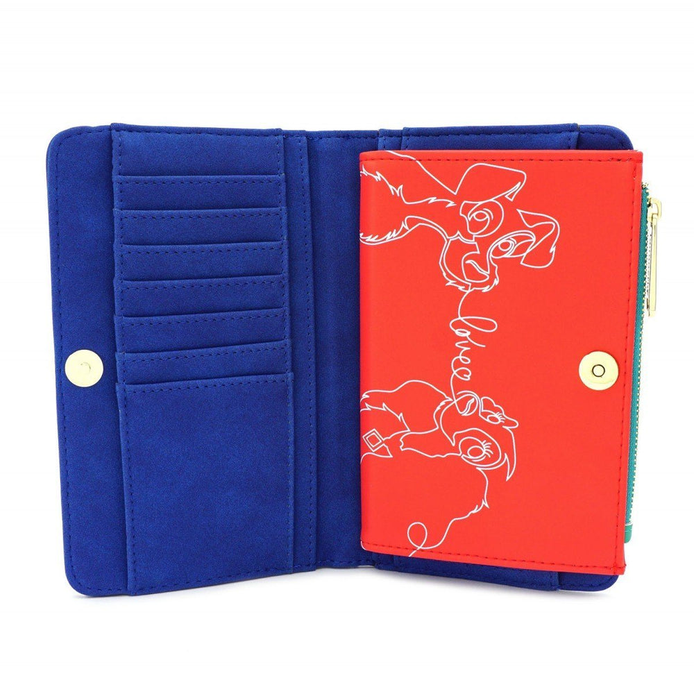LOUNGEFLY x The Lady And The Tramp Wallet